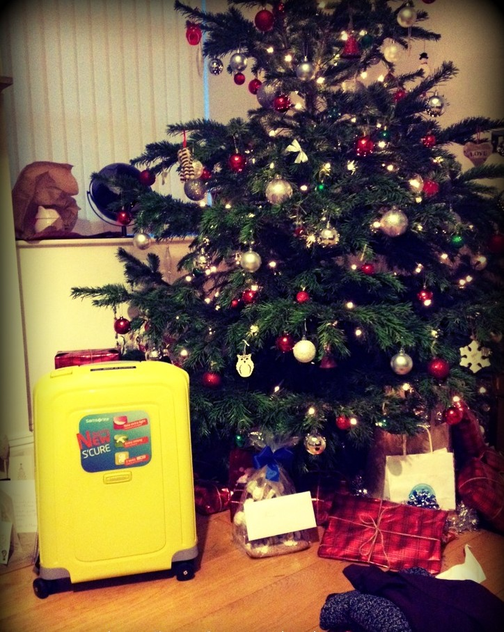 samsonite-suitcase, Gifts for travellers,