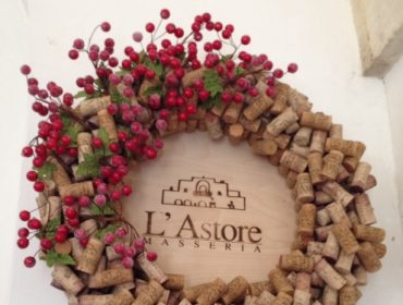 L'Astore Masseria, Masseria, Italy, Apulia, Puglia, Discovery Puglia, Discovery Puglia Fam Trip, Travel, Travel Blog, Review, 2014, Corks, Cork Wreath, Christmas Cork Wreath, Unusual Wreath