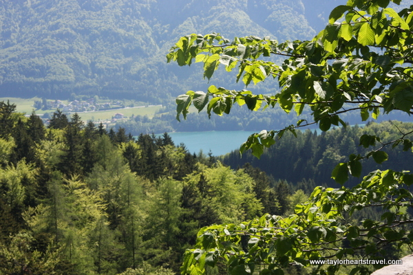 Austria, Austrian Lakes, Salzkammergut, Scenery, Views, Travel, Travel Blog, Travel Blogger, Taylor Hearts Travel, The Ruins Wartenfells