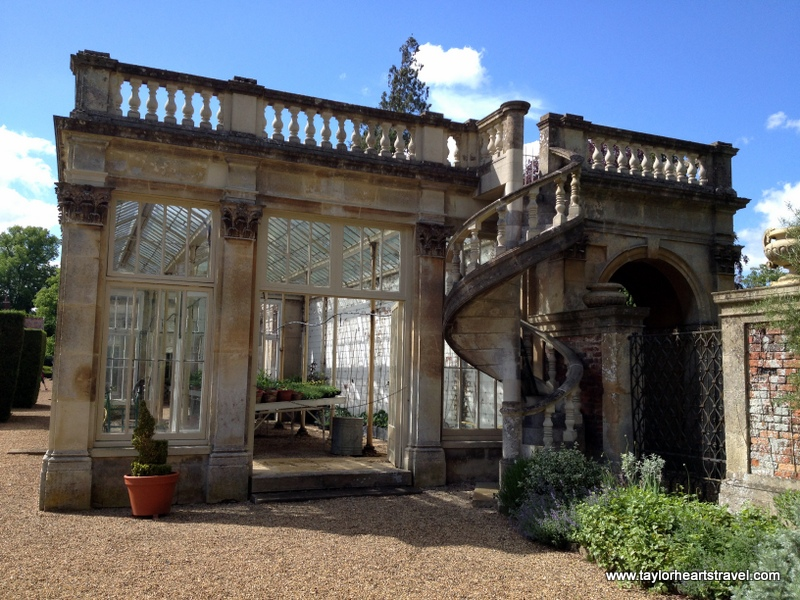 Northamptonshire, Castle Ashby, Castle Ashby Gardens, Orangery