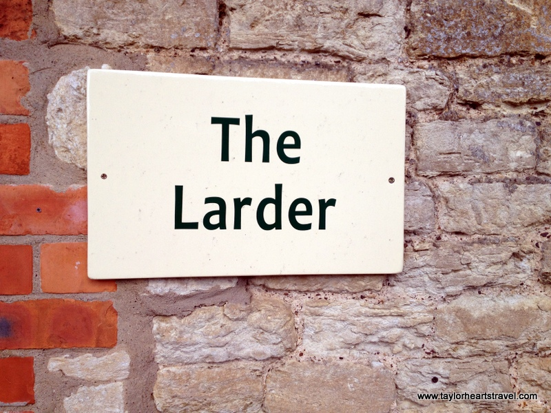 The Larder, Castle Ashby, Rural Shopping Yard