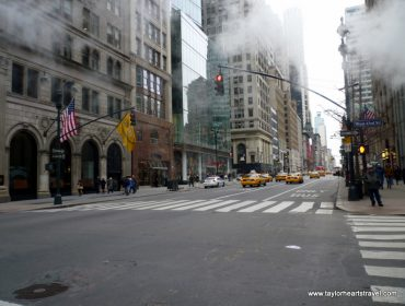 New York, NYC, America, Smoke, Mist, Taxi