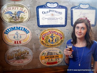 Anchor Steam Brewery, Brewery Tours, Anchor Beer, Brewery, Anchor Steam Beer, Praeds Noted Stout and Ale, Praeds, Northamptonshire, San Francisco, Taylor Hearts Travel, Review, Travel Blog, Travel lifestyle blog