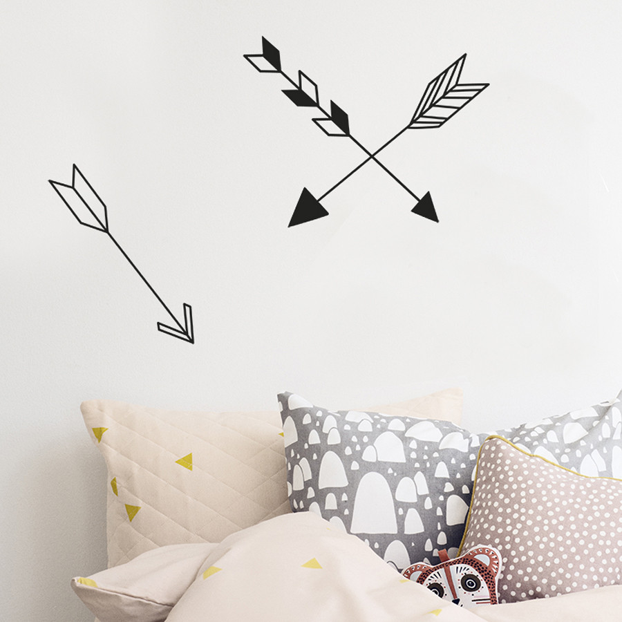 This Modern Life, Travel Style, Travel Nursery, Monochrome, Nursery, Style, Cool, Unique, Travel Gift, Travel Present, Wall Stickers, Wall Art, Arrows, Arrow