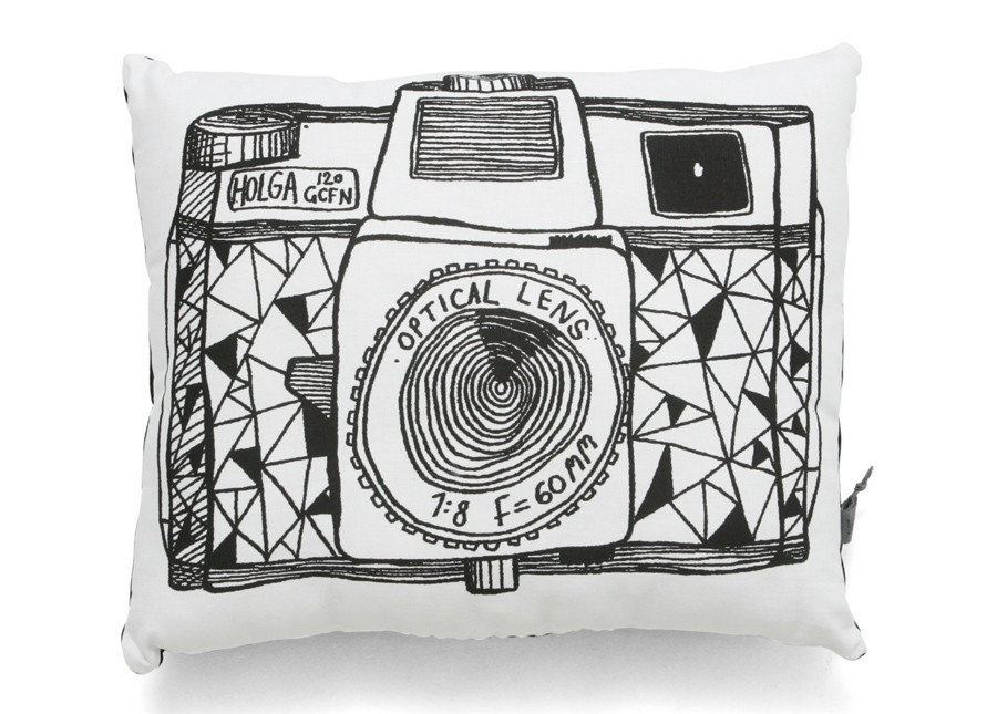 Camera Cushion, Camera Pillow, This Modern Life, Travel Style, Travel Nursery, Monochrome, Nursery, Style, Cool, Unique, Travel Gift, Travel Present