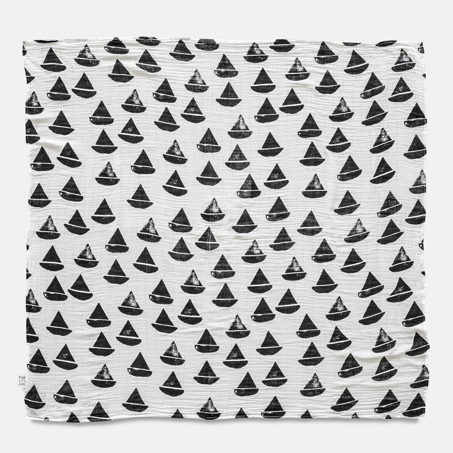 This Modern Life, Travel Style, Travel Nursery, Monochrome, Nursery, Style, Cool, Unique, Travel Gift, Travel Present, baby, sailboat, boat, muslin, swaddle, blanket., organic