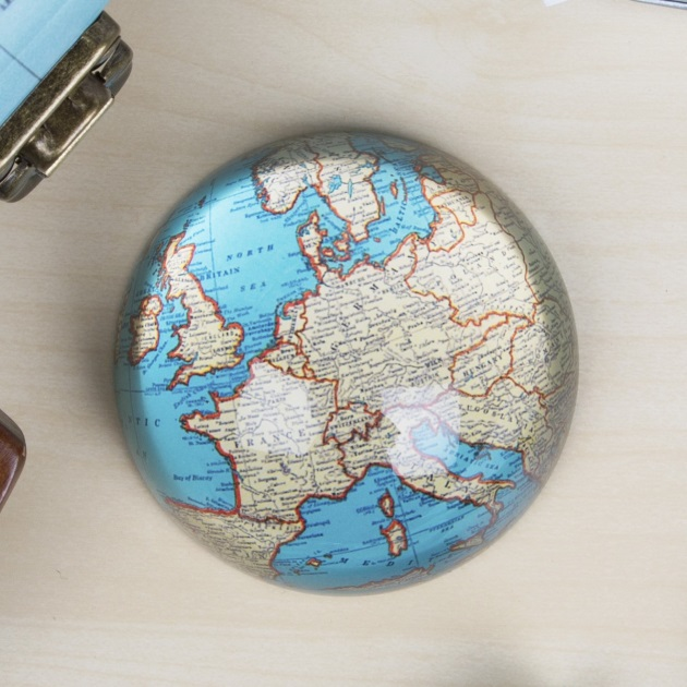Sass & belle, Sass & Bell, Travel Style, Travel Blog, Map, Suitcase, Gift, vintage Map, Paperweight, paper weight