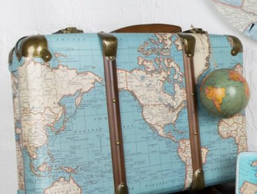 Sass & belle, Sass & Bell, Travel Style, Travel Blog, Map, Suitcase, Gift, vintage Map