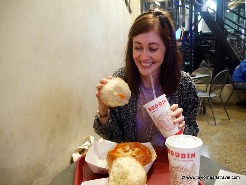 Best places to eat in San Francisco, Boudin, Taylor Hearts Travel, San Francisco, Best Restaurants