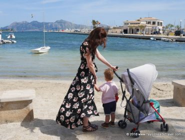 Baby Travel, Family Travel, Mallorca, Taylor Hearts Travel