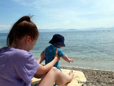 Greece, Baby Travel, Family Travel, Family Travel Blog, Baby Travel blog, Taylor Hearts Travel, Corfu