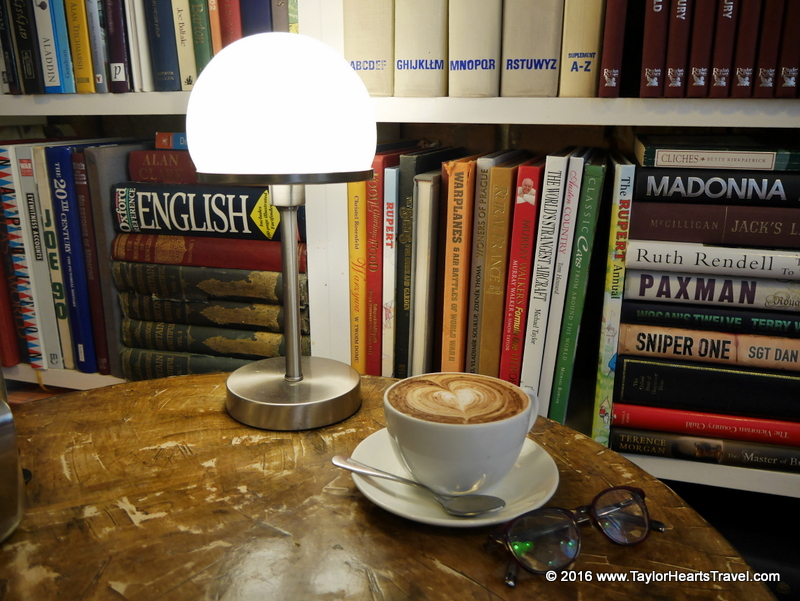 1066 Country, Hastings, Hanushka Coffee House, Book coffee Shop
