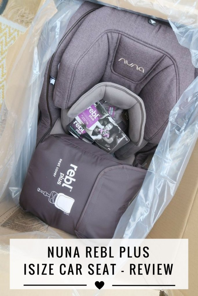 nuna rebl plus isize car seat review and video taylor. Black Bedroom Furniture Sets. Home Design Ideas