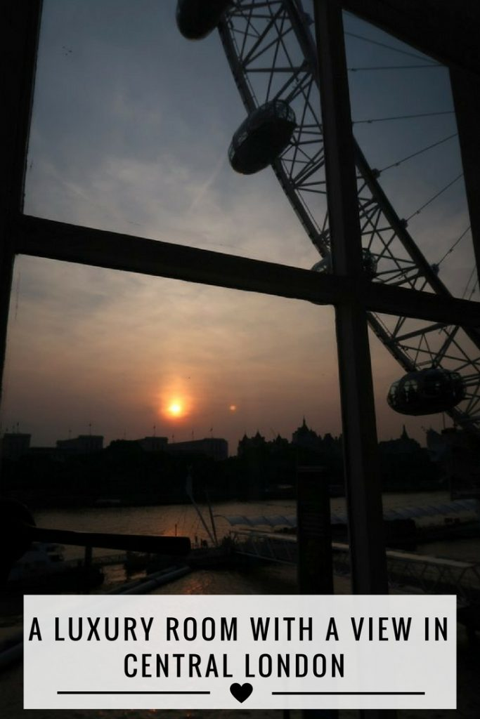 London Eye, London Marriott Hotel County Hall, Silver Lining Service, Room Tour, Hotel Tour, Review