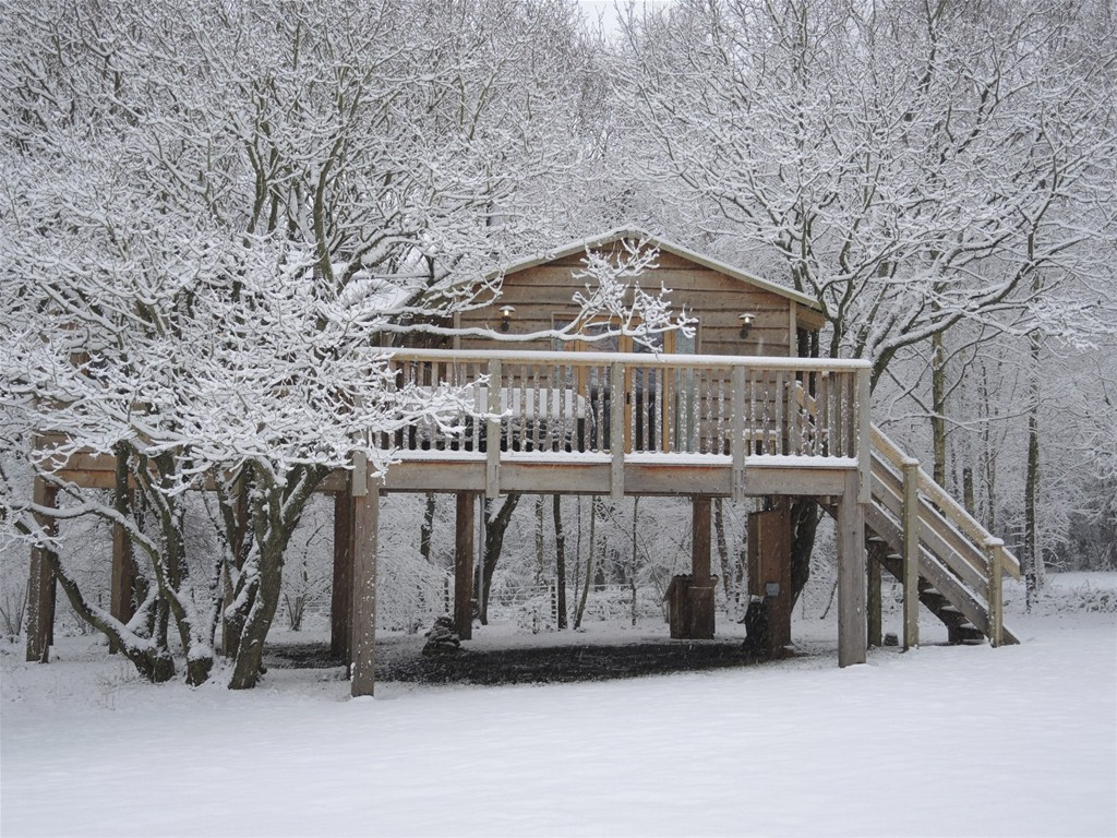 A snowy fairytale at The Treehouse (image courtesy of Into the Woods)