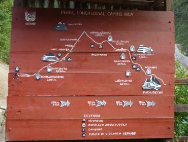 Inca Trek, Map, Height, Altitude, Peru, Machu Picchu