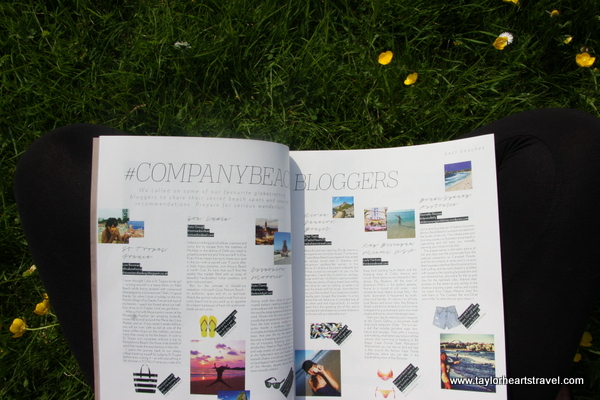 Company Magazine, Travel Blog, Taylor Hearts Travel, High-street Edit, Company Magazine High Street Edit, Summer, 2014, Blogger
