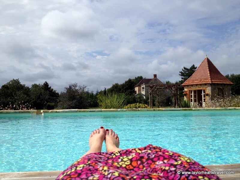 Pool, Domaine Lourejou, Pure France, Salviac, South West France, Villa, Pool, Rental, Holiday Home, Family, Big, Luxury, France, Review, travel Blog