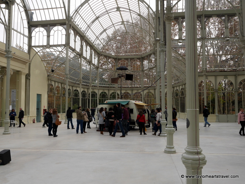 Janet Cardiff, George Bures Miller, Art, The Marionette Maker, El Retiro Park, spain, Retiro park Madrid, Madrid, Retiro Park, photography, photos, Palacio de Cristal, the Glass Palace, The Crystal Palace,