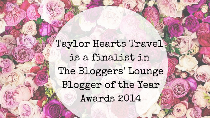 The Bloggers' Lounge Awards 2014, Blog Awards, Award, Blog Award, Blogger Lounge Award, Finalist, Blogger Lounge Awards, Travel Blog Award,