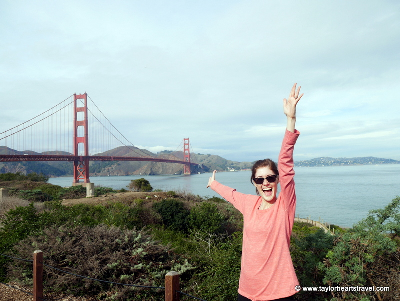 Taylor Hearts Travel, TaylorHeartsTravel, Travel Lifestyle Blog, San Francisco, Golden Gate Bridge, Dream Travel, Travel Dream
