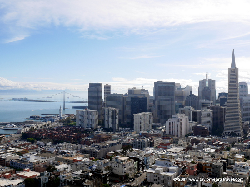 san francisco sightseeing, things to do san francisco, San Franisco, Travel Blog, Travel lifestyle blog, review, photos of Coit Tower, san francisco tourist attractions, Telegraph Hill, Coit Tower San Francisco, Coit tower, Taylor Hearts Travel