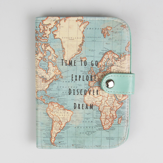 Sass & belle, Sass & Bell, Travel Style, Travel Blog, Map, Suitcase, Gift, vintage Map, passport holder