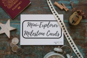 Mini-Explorer Milestone Cards