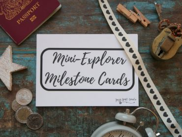 Baby Travel Milestone Cards, Mini Explorer Milestone cards, Family Travel Milestone Cards, Baby Milestone cards, stylish baby milestone cards, monochrome baby milestone cards, milestone cards, taylor hearts travel