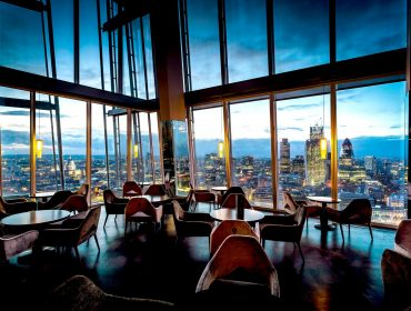 Top London Restaurants, London restaurant, Aqua shard, cool London restaurants