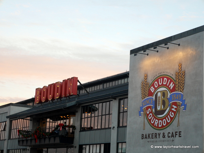 Best places to eat in San Francisco, Boudin, Taylor Hearts Travel, San Francisco, Best Restaurants, Boudin