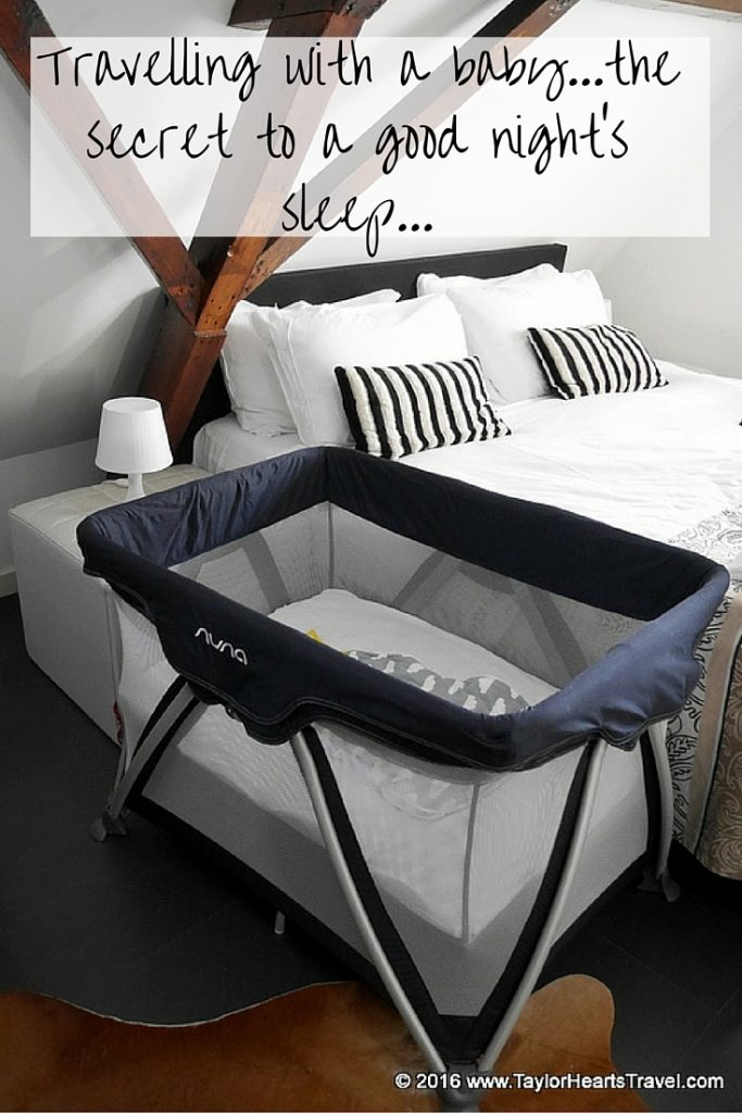 Nuna Sena Travel Cot The Stylish Playard Taylor Hearts