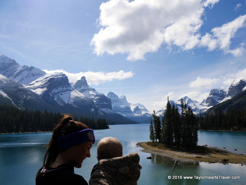 Flying with a baby, baby travel, family travel blog, taylor hearts travel, flying with a baby, travelling with a baby, Jasper National Park
