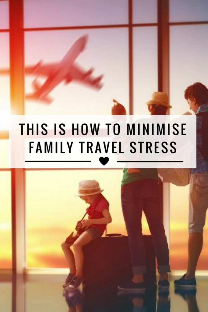 Family travel stress