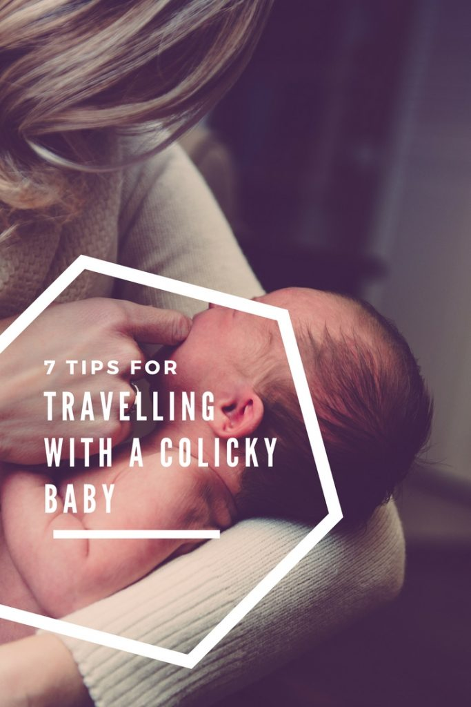 baby travel, colic, colicky, colic tips, travelling with a colic baby, how to help a colicky baby