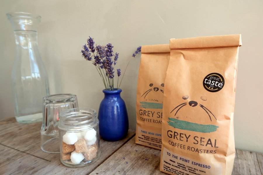 Family vacation in Norfolk, Sheringham, Gray Seal Coffee
