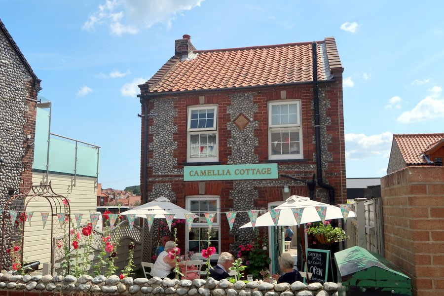 Family vacation in Norfolk, Sheringham, Camellia Cottage