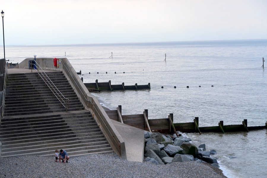 Family vacation in Norfolk, Sheringham