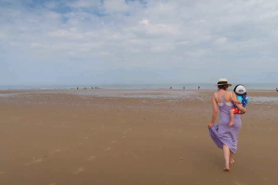 Family vacation in Norfolk, Holkham Beach, Holkam