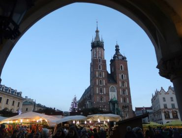 Main Square in Krakow Poland