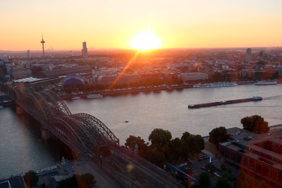 Things to do in Cologne - kolntriangle cologne