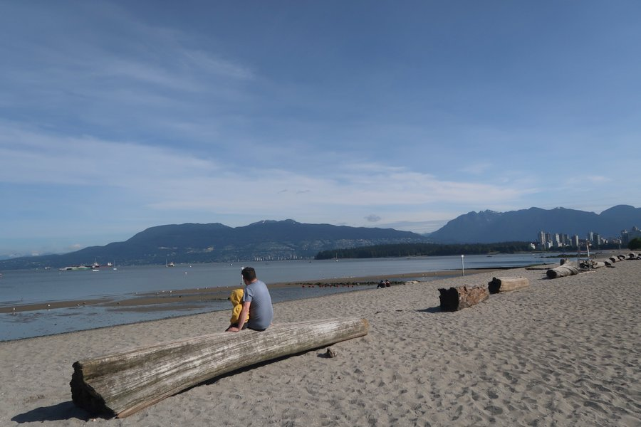 Things to do in Vancouver - Kitsilano Beach, Kitts Beach