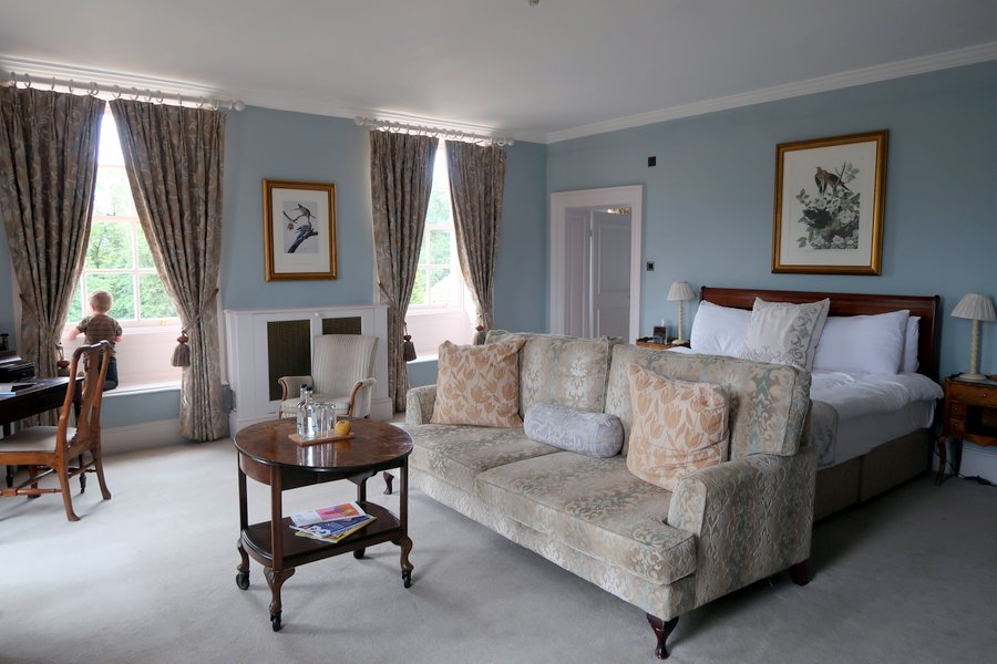 Born room at Chicheley Hall