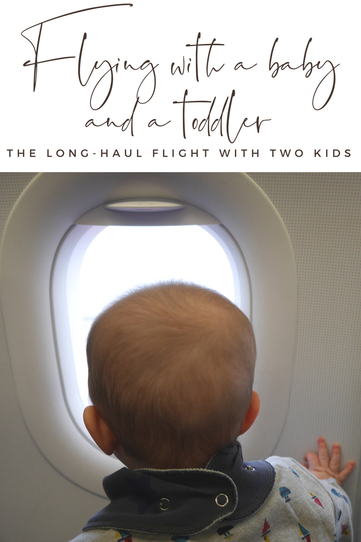 Flying with a baby long haul flight